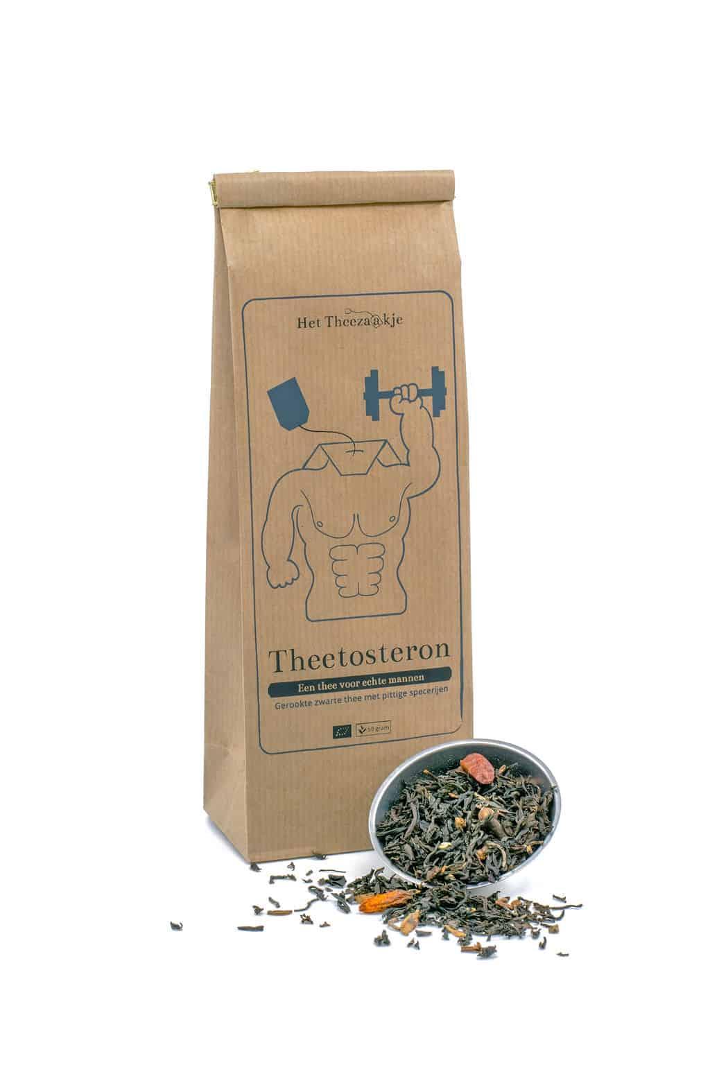 Theetosteron – Een thee voor echte mannen