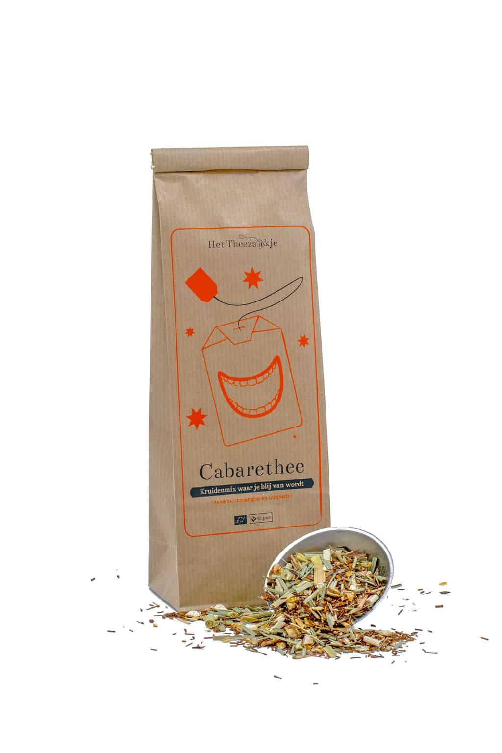 Cabarethee – Kruidenmix om blij van te worden