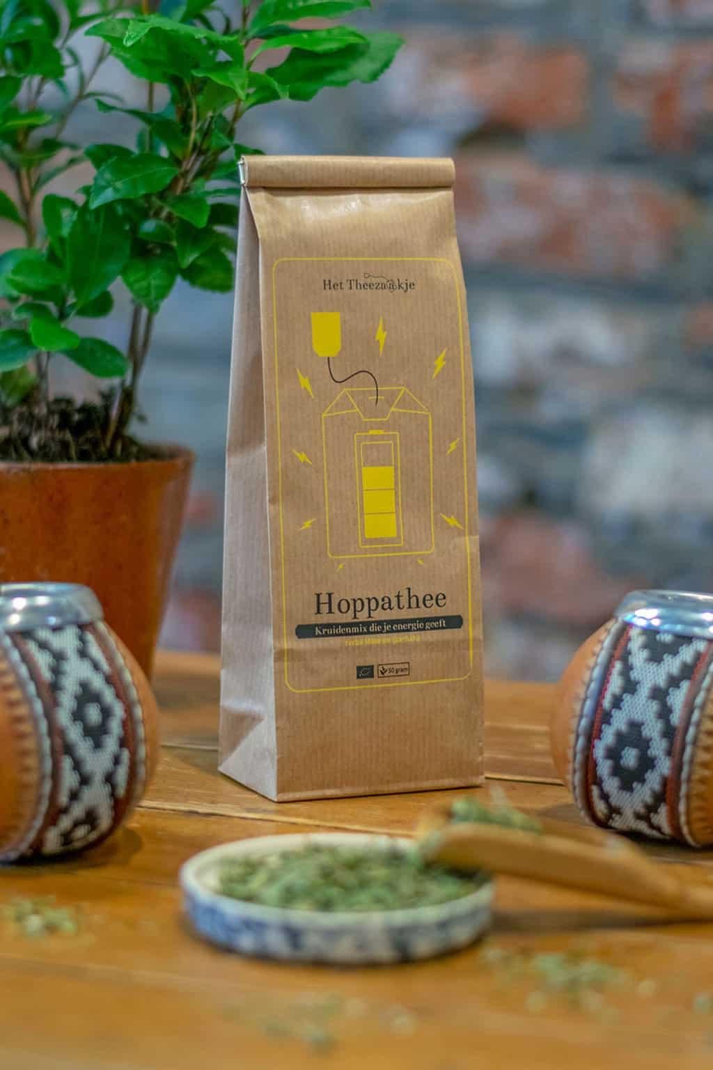 Hoppathee – Kruidenmix die je energie geeft